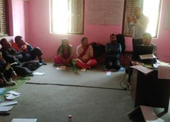 WASH Orientations for HFOMC members in Makwanpurgadhi VDC