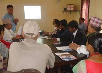 Inception Meeting in Sindhupalchowk