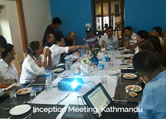 Inception Meeting in Kathmandu