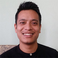 Bikram Bucha and Saurya Dhungel