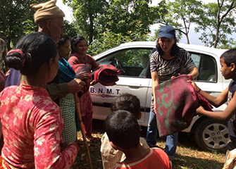 BNMT Earthquake Relief Action 2nd May 2015