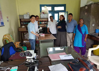 Inception meetings in IMPACT TB Project Districts, Makwanpur and Chitwan