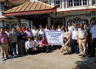 IMPACT TB Standard Operating Procedure (SOP) workshop, Hetauda
