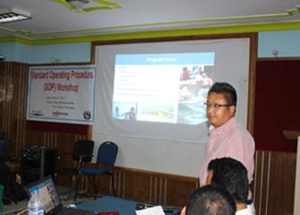 TB REACH Standard Operating Procedure (SOP) Workshop, Nepalgunj