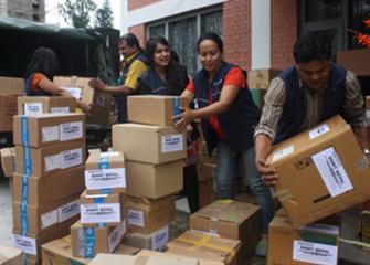 Handing Over Essential Medicines for Okhaldhunga District