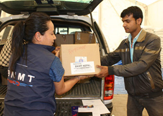 Handing over Essential Medicines to the Government of Nepal