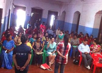Orientation Session in Kanya Mandir Higher Secondary School
