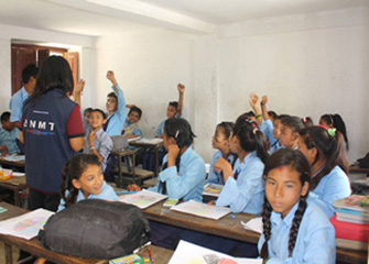 Followup Counselling in Bal Bikash Secondary School
