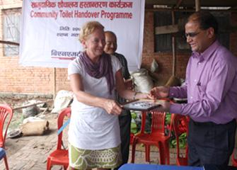Community Toilet Handover Programme At Bhaktapur