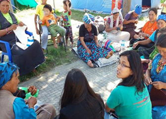 Basic Psychosocial Counselling Provided to the Survivours of Langtang Disaster