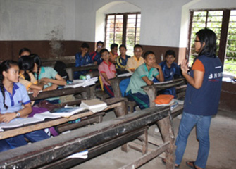 Psychosocial Counselling along with Psychosocial Education Provided to the Students of Shanti Nikunja High School