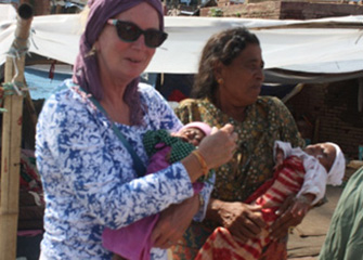 Visit to Earthquake Survivors and Distribution of Relief Materals
