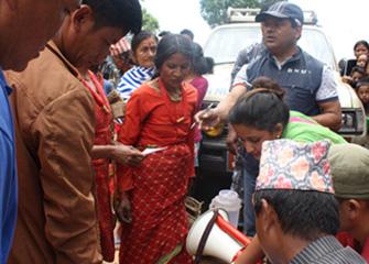 BNMT in Duachaur, Sindhupalchowk