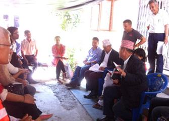Coordination with DPHO Kathmandu