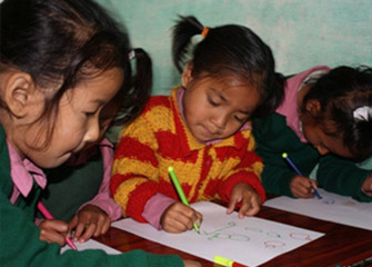 Art Counselling Conducted At Education And Development For The Underprivileged Children (Educ)-Nepal