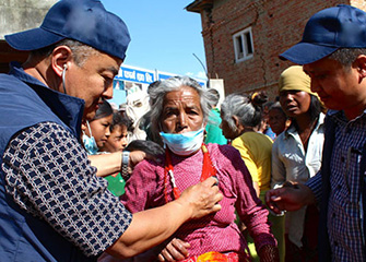BNMT Earthquake Relief Action 3rd May 2015