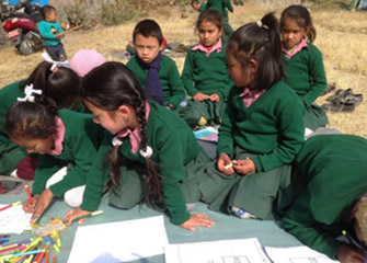 Art Counselling and Assertiveness Education at Education and Development for the Underprivileged Children (EDUC), Basundhar