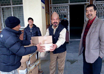 Essential medicines handed over to Teaching Hospital