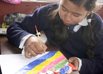 Art Counselling in Jagat Sundari Bwone Kuti, Chagal, Kathmandu