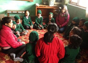 Follow up session in Education and Development for the Underprivileged Children (EDUC), Basundhara