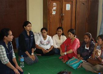 Follow up session on Psychosocial Counselling in Bhaktapur