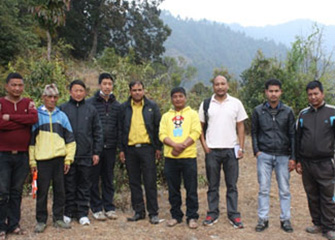 Visit to Tistung, Fakhel, Nibuwatar and Makwanpurgadhi of Makawanpur district