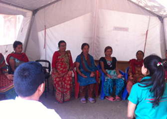 Psychosocial Need Assessment and Support Program in Sankhu