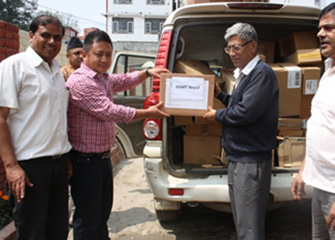 Distribution of Essential Medicine in Central Jail Kathmandu
