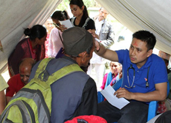 Free Health Camp in Baramchi-2, Sindhupalchowk