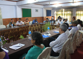 Inception Meeting with Stakeholders at Makwanpur