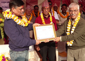 Health Facilities Handover Programme in Makwanpur