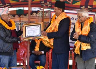 Health Facility Handover Program in Phakhel, Makwanpur