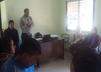 WASH orientation for Health Facility Operation and Management Committee (HFOMC) in Tistung, Basamadi, Dhiyal and Phakhel VDCs, Makwanpur