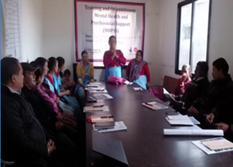 MHPSS Orientation for FCHVs, HFOMCs, Local/social leaders and teachers at Kunchowk, Sindhupalchowk