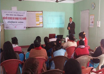 WASH Orientation for health professionals and community leaders including FCHVs in Padampokhari, Makwanpur and Kunchowk, Sindhupalchowk