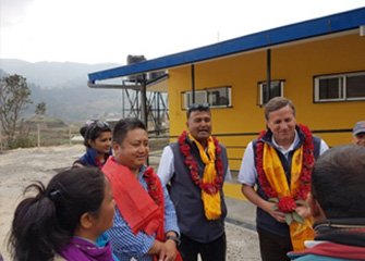 Joint Supervision Visit of BNMT Nepal and Americares Headquarters to Makwanpur