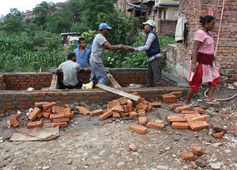 Construction of Gender Friendly Community toilet in Yosinkhel Area