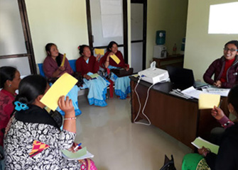 MHPSS Orientations to Non-prescribers (FCHVs, HFOMCs, Local/social leaders, teachers) in Dhiyal, Khairang and Tistung VDC