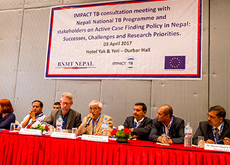 IMPACT TB Consultative Meeting with Nepal National TB Programme and Stakeholders