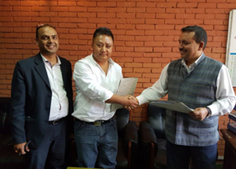 MoU Signed between Ministry of Health and BNMT Nepal for the project IMPACT TB