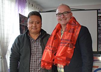 Mr. Jeff Mecaskey and Mr. Anthony Bondurand visit to BNMT Nepal