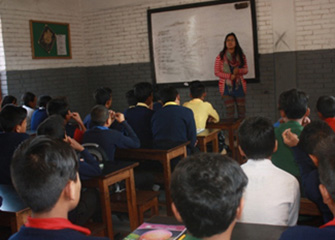 Follow Up session at Basu Secondary School