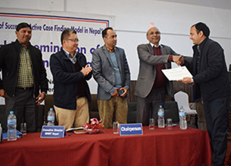 Dissemination of TB REACH Wave 5: Scale up of Active Case Finding Model in Nepal Project