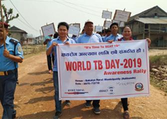 Organizing of World TB Day 2019