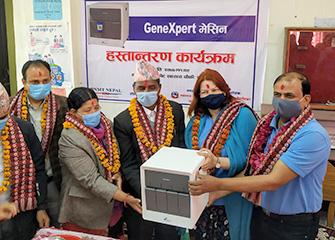 GeneXpert handover in IMPACT 2 TB districts